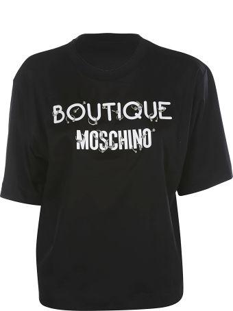 Boutique Moschino Logo T-shirt