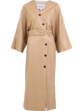 Nanushka Faux-leather Dress