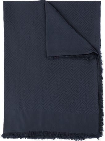 Fendi Silk And Wool Scarf
