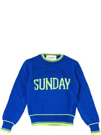 """Alberta Ferretti """"sunday"""" Pullover In Blue"""