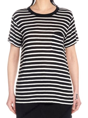 T by Alexander Wang 'striped' T-shirt