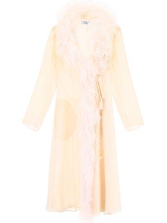 Prada Robe With Feathers