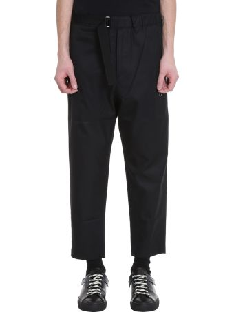 OAMC Regs Black Cotton Pants