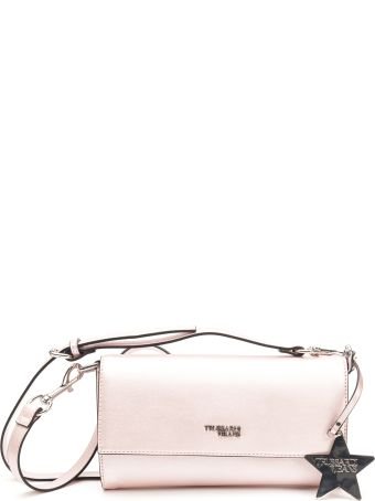 Trussardi Trussardi T-star Faux Leather Clutch