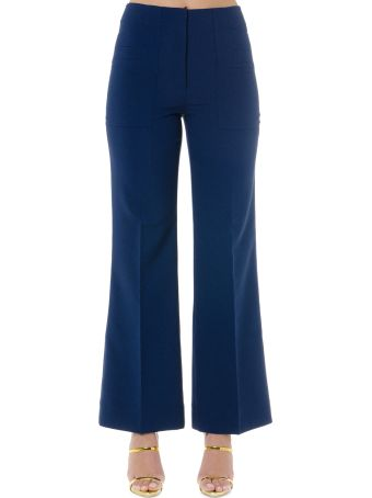 Acne Studios Blue Cropped Pants