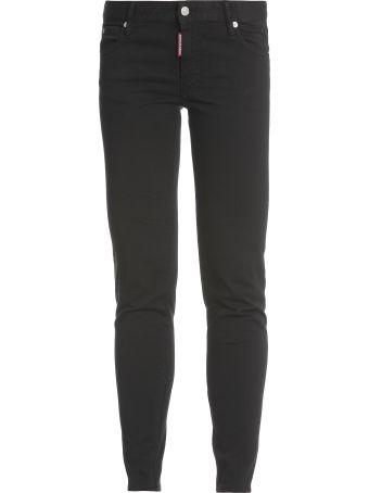 Dsquared2 Medium Waist Twiggy Jeans