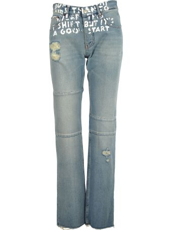 MM6 Maison Margiela Mm6 Straight Jeans