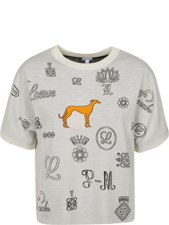 Loewe Jacquard Logo T-shirt