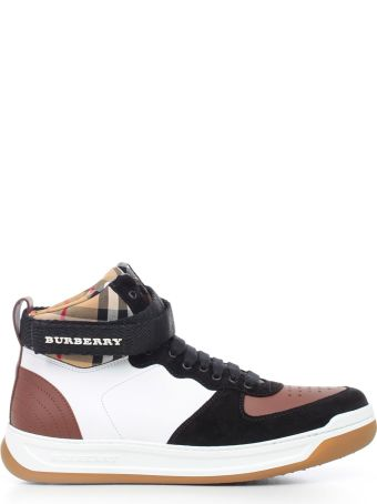 Burberry Dennis Checked Sneakers