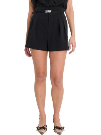 RED Valentino Hig-rise Shorts With Belt