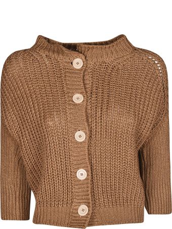 Bruno Manetti Manetti Crop Knitted Cardigan