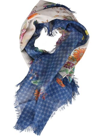 Gucci Kids Floral Scarf