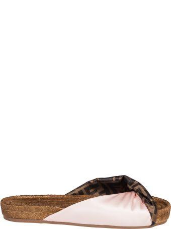 Fendi Twist Detail Espadrillas