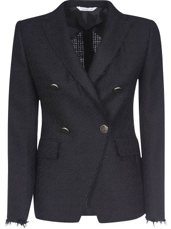 Tonello Woven Double-breasted Blazer