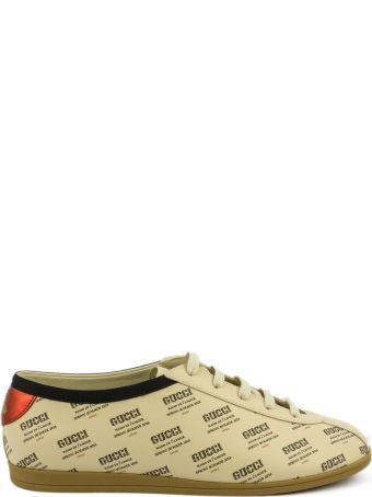Gucci Falacer Gucci Invite Print Sneaker.