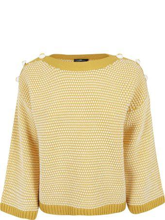 Elisabetta Franchi Celyn B. Button Detail Sweater