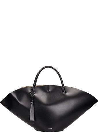 Jil Sander Sombrero Medium Leather Bag