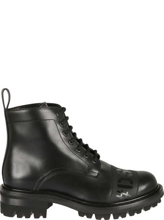Dsquared2 Logo Detail Ankle Boots