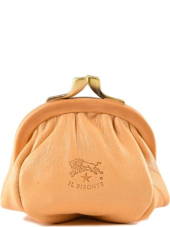 Il Bisonte Logo Coin Case