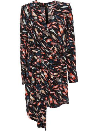 Givenchy Printed Asymmetric Dress