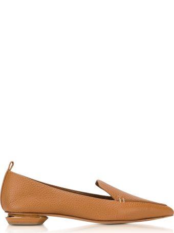 Nicholas Kirkwood Beya Tan Leather Loafer