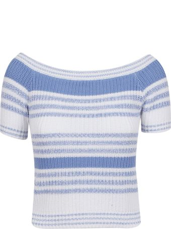 RED Valentino Striped Top
