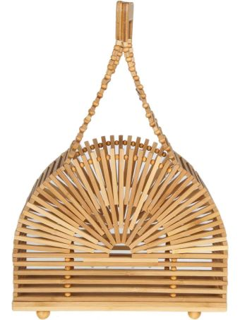 Cult Gaia Hand Bag Mini Dome In Bamboo