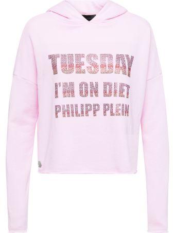Philipp Plein Pink Sweatshirt
