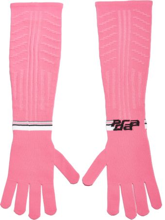 Prada Long Logo Gloves