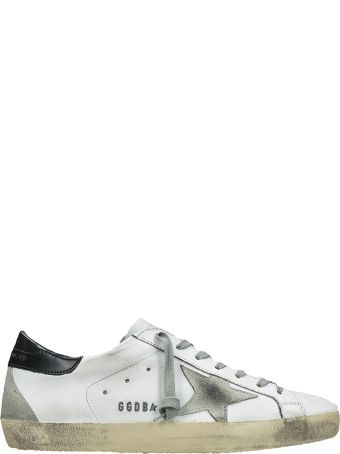 Golden Goose Superstar White Black Sneakers