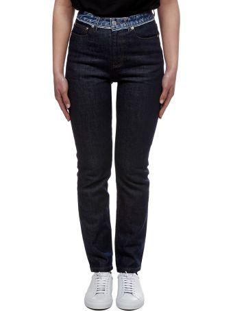 A.P.C. Patchwork Waist Jeans
