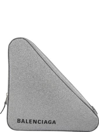 Balenciaga Gris Medium Clutch