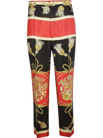 Gucci Flower Tassel Trousers