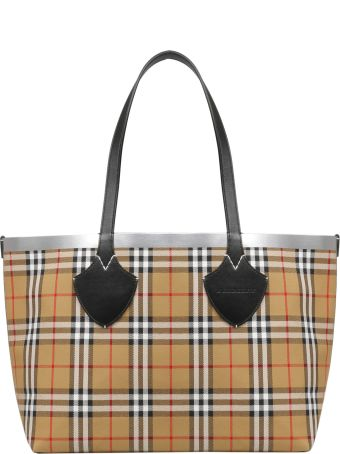 Burberry Checked Vintage Tote
