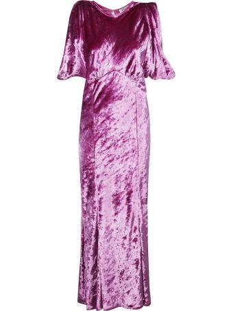 ATTICO Asymmetric Midi Dress