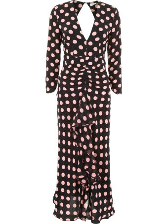 Rixo London Tiger Print Dress