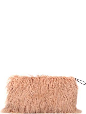 Dries Van Noten Faux Fur Bag