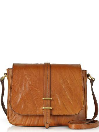The Bridge Rimbaud Leather Medium Shoulder Bag