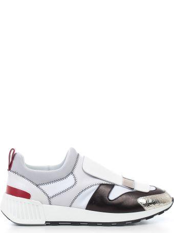 Sergio Rossi Pull Tab Rear Slip On Sneakers