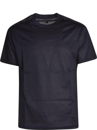 Les Hommes Logo Plaque T-shirt