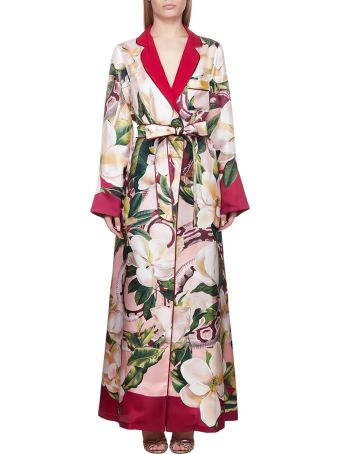 For Restless Sleepers F.r.s For Restless Sleepers Floral Kimono Dress