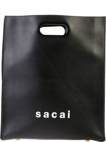 Sacai Medium Leather Bag