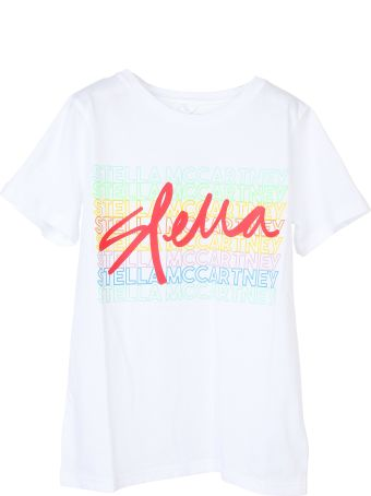 Stella McCartney Kids Signature Logo Print Short-sleeve T-shirt