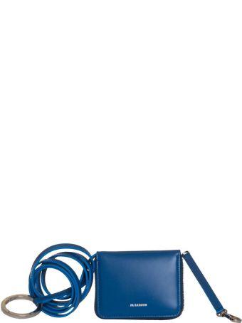Jil Sander Wallet With Strap