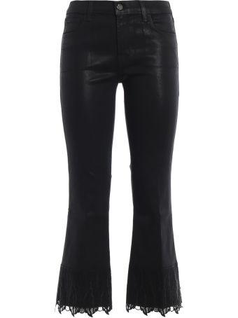 J Brand Selena Crop Lace Jeans