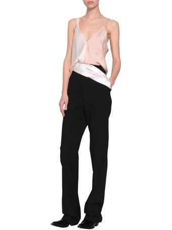 Haider Ackermann Two Tones Kuiper Top