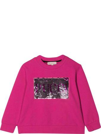 Emilio Pucci Fuchsia Teen Sweatshirt Emilio Pucci Kids