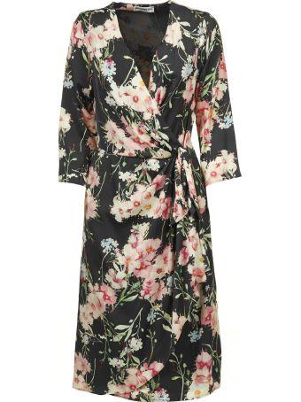 Essentiel Floral Wrap Dress