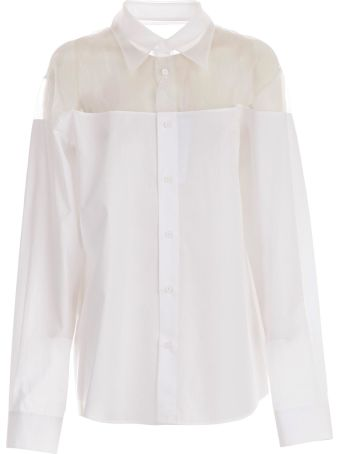 Maison Margiela Sheer Long Sleeved Shirt