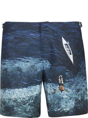 Orlebar Brown Deep Sea Print Shorts